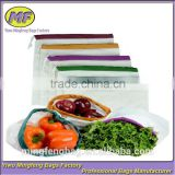 Custom Eco Friendly Washable and Reusable fruit Bags with Soft Premium Lightweight Cotton Canvas Material