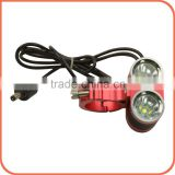Fashion color usb charge type XM-U2 1900lm Bicycle light frontal LED Headlamp for outdoors