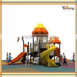 Used Plastic Slide Playground For Sale/Outdoor Soft Playground Set/Park Playground Fences For Kids