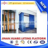 ideal lifting equipment for cargo transportation, convenient low floor used elevated work platform