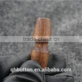 CHINESE WENZHOU BUTTON FACTORY NATURE WOOD TOGGLE BUTTON FOR COAT