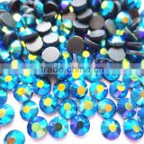 full size and color AB super shine ss20 blue zircon AB dmc rhinestone hot-fix for clothing,bag,shoes
