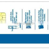 Manufacturing high quality ISO SLE4428 hotel key card
