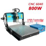 Wide varieties MINGDA aluminum cnc router 4 axis / 6040 cnc router carving / cnc cutting machine