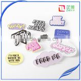 New shirt Cute Cartoon Brooches Decoration Badge Acrylic Pins Jewery clothes Figure Simpson Enamel