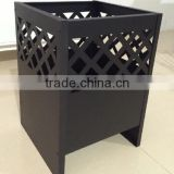 Garden trasure square outdoor fire pit
