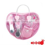 2014 Lovely bag with girls dress up sets princess cosmetic set toy