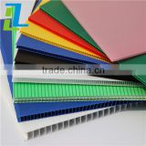 factory price clear hollow polycarbonate roofing sheet, PC hollow sheet, honeycomb sheet decoration sheet
