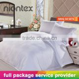 100%Cotton 300TC Sateen Jacquard Bedding Set Duvet Cover Flat sheet Fitted Sheet Pillowcase