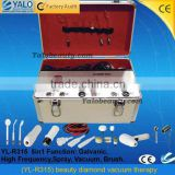 (YL-R315) high frequency ultrasonic beauty diamond microdermabrasion vacuum massage therapy machine