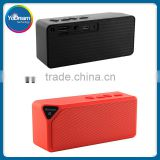 Mini Bluetooth Speaker X3 TF USB FM Radio Wireless Portable Music Sound Box Subwoofer Loudspeakers with Mic for iOS Android
