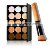 Makeup Contour Kit with brush, Waterproof 15 Color Concealer kit Camouflage Palette, concealer for dark circles
