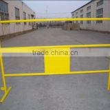 Steel Reflective Barrier With Sign Board /France market road traffic barrier with reflection sticker
