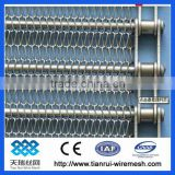 high quality chain link conveyor belt wire mesh v or conveyer belt OEM china with wire mesh drive belt