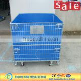 foldable mesh box pallet/ mesh container /mesh box supplier (manufacturer)