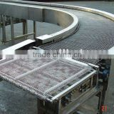 food grade stainless steel turning conveyor