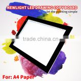 High quality Portable LED neon electronic marker drawing copy board for students/ kids/ artist