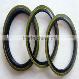 Composite NBR+metal seals for industrial machine