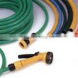 PVC spiral hose high with pressure resistance grease resistance 3/8'' for pneumatic&hydraulic tools