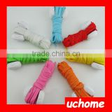 UCHOME Hot Sale Nylon Flashing Shoe Laces Flash Light Up LED Glow ShoeLaces