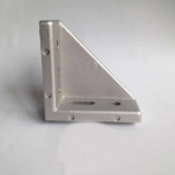 Al-Alloy Material Angel Bracket for 40s  Aluminum Profile