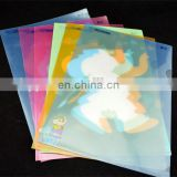 Plastic a4 transparent clear file folder