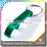 Advertising gift mini simple cool funny bottle opener keychain with custom logo