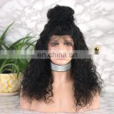 Natural Color Wholesale Price Good Quality Virgin Brazilian Human Hair Full Lace Wig