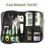 9/1 Network Tool Repair Kits - Ethernet Lan Cable Tester Computer Maintenance Coax Crimper Tool for RJ-45/11/12 Cat5/5e