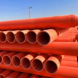 CPVC pipes for high voltage power cables