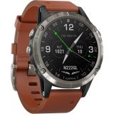 Garmin D2 Delta Aviator Watch (47mm, Brown Leather Band) Price 200usd