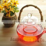 Glass Teapot with Bamboo Handle 600ml