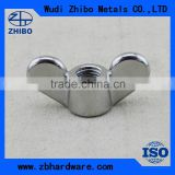 China Manufacture supply Stainless steel rigging screw Wing nut