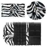 Zebra-stripe 35 Color Eye shadow Empty Palette/Fashion empty mixed palette/Combination palette