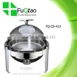 Round Roll Top Stainless Steel Buffet Chafing Dish Heater for Hotel Restaurant                                                                         Quality Choice