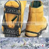 Climbing snow shoes grips/crampon spike