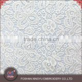 Factory price high quality chinese embroidery design soft cotton fabric for embroidered evening dress