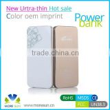 Urtal slim Power Bank 4500mAh Portable Power Bank Charger with 4500mah manual for power bank battery charger
