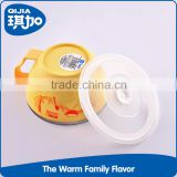 Hot sale plastic PP and stainless steel ramen bowl for noodle