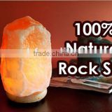 Carved Himalayan Rock Salt Lamp