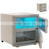 VY-46A 46L Dual chambers hot towel cabinet uv sterilizer