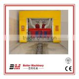 Widely used rollover car washing system