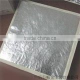 genuine silver leaf for gilding with furniture pure silver leaf                                                                         Quality Choice