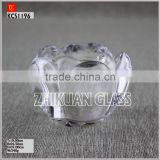 hot sales design Handmade Flower Shaped Votive Candle Holder,Glass Tealight Candle hodler