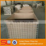 Factory supply MIL3 Hesco flood barrier, geotextile bag, hesco bastion for protection fence