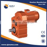 f series parallel shaft helical geared motor/gear for agitator                                                                         Quality Choice