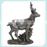Resin deer resin deer craft beautiful animals for christmas decoration                                                                         Quality Choice