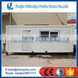 chinese container module house / Flat pack container house / living 20ft container house