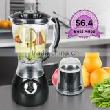Jialian Low Price Hot Sale JL-BY44 Powerful Plastic Jar ABS Body 2 In 1 Electric Blender                                                                         Quality Choice