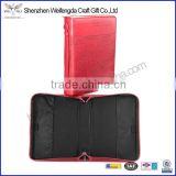 Promotion New Factory Pink Embossed Custom Leather Bible Book Cover
